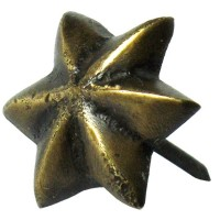6 Point Star Clavos - Custom Finishes (HCL1250) by Gado Gado
