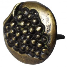Round Grape Motif Clavos - Antique Brass (HCL1254) by Gado Gado
