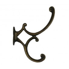 Art Nouveau Hooks - Antique Brass (HHK7050) by Gado Gado