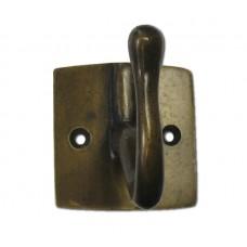 Medium Single Hooks - Antique Brass (HHK7066) by Gado Gado