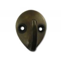 Small Teardrop Single Hooks - Custom Finishes (HHK7088) by Gado Gado