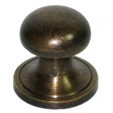 Half Sphere Cabinet Knob - Antique Brass (HKN1020) by Gado Gado