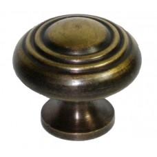 Three Tier Cabinet Knob - Antique Brass (HKN1028) by Gado Gado