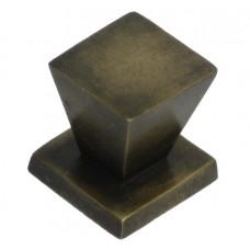 Square Cabinet Knob - Antique Brass (HKN3010) by Gado Gado