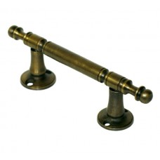 Straight Drawer Pull - Antique Brass (HPU7012) by Gado Gado