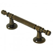 Straight Drawer Pull - Antique Brass (HPU7014) by Gado Gado