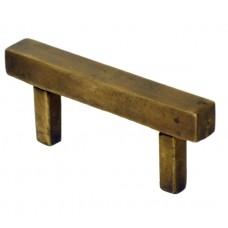 Square Drawer Pull - Antique Brass (HPU7022) by Gado Gado