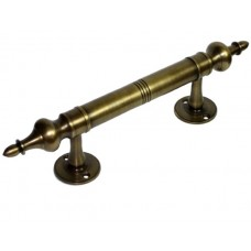 Minaret Drawer Pull - Antique Brass (HPU8018) by Gado Gado