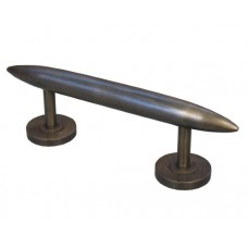 Plain Torpedo Drawer Pull - Antique Brass (HPU8030) by Gado Gado