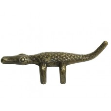 Alligator Drawer Pull - Antique Brass (HPU9070) by Gado Gado