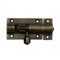 Barrel Bolt Surface Bolts - Antique Brass (HSB4010) by Gado Gado