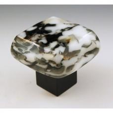 Glanite  Chunky Cabinet Knob (GGB) by Grace White Glass