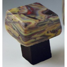 ResagoStone Chunky Cabinet Knob (RSB-G) by Grace White Glass