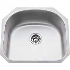Undermount Stainless Steel Sink - Satin Stainless Steel - 23-1/4 x 20-7/8 x 9 (861)