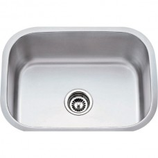 Undermount Stainless Steel Sink - Satin Stainless Steel - 23-1/2 x 17-3/4 x 9 (862)