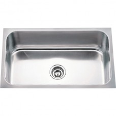 Undermount Stainless Steel Sink - Satin Stainless Steel - 30 x 18 x 9 (868)
