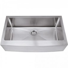 Farmhouse Stainless Steel Sink - Satin Stainless Steel - 35-7/8 x 20-3/4 x 10 (HA200)