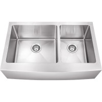 Farmhouse Stainless Steel Sink - Satin Stainless Steel - 35-7/8 x 20-3/4 x 10 (HA225)