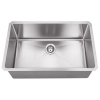Undermount Stainless Steel Sink - Satin Stainless Steel - 30 x 18 x 10 (HMS190)