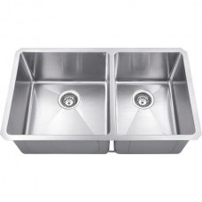 Undermount Stainless Steel Sink - Satin Stainless Steel - 32 x 19 x 10 (HMS260L)