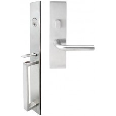 BW Mortise Entry Set (BW) by Inox by Unison Hardware