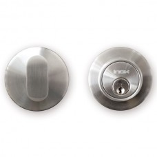 CD Series Round Deadbolt (CD110) by Inox by Unison Hardware