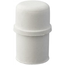 White Replacement Tip for DSIX09 Door Stops (DSIX09RUB-WH) by Inox by Unison Hardware