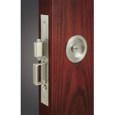 Luna Mortise Pocket Door Lock (FH22) by Inox by Unison Hardware