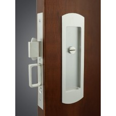Arc Mortise Pocket Door Lock (FH29) by Inox by Unison Hardware