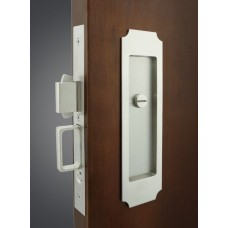 Crown Mortise Pocket Door Lock (FH32) by Inox by Unison Hardware
