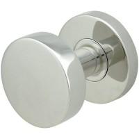 Polaris Door Knob Set w/ RA Round Rosette (RA380) by Inox by Unison Hardware