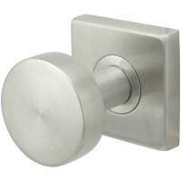 Polaris Door Knob Set w/ SE Square Rosette (SE380) by Inox by Unison Hardware