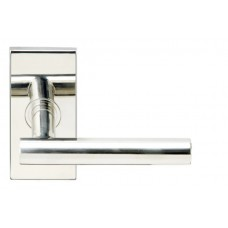 Copenhagen Door Lever Set w/ SH Rectangular Rosette (SH106) by Inox by Unison Hardware