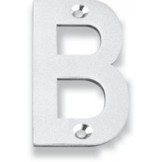 """Letter B - 3"""" Concealed Bolt Fixing House Letter (LTIXN3B) by Inox by Unison Hardware"""