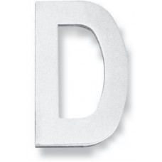 """Letter D - 3"""" Concealed Bolt Fixing House Letter (LTIXN3D) by Inox by Unison Hardware"""