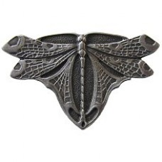 Dragonfly Cabinet Knob - Antique Pewter (NHK-107-AP) by Notting Hill