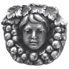 Fruit of the Vine Cabinet Knob - Antique Pewter (NHK-119-AP) by Notting Hill