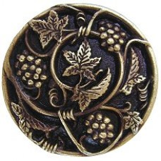 Grapevines Cabinet Knob - Antique Brass (NHK-129-AB) by Notting Hill