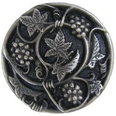Grapevines Cabinet Knob - Antique Pewter (NHK-129-AP) by Notting Hill