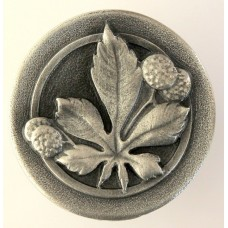 Horse Chestnut Cabinet Knob - Antique Pewter (NHK-143-AP) by Notting Hill