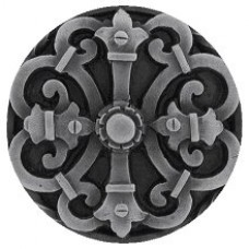 Chateau Cabinet Knob - Antique Pewter (NHK-176-AP) by Notting Hill