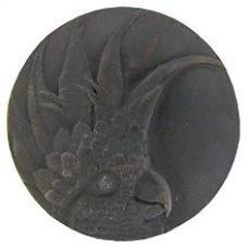 Cockatoo (Small - Left side) Cabinet Knob - Dark Brass (NHK-324-DB-L) by Notting Hill