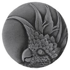 Cockatoo (Large - Right side)  Cabinet Knob - Antique Pewter (NHK-327-AP-R) by Notting Hill