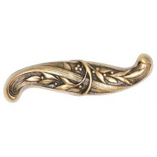 "Chelsea Drawer Pull ("" cc) - 24K Satin Gold (NHP-609-SG) by Notting Hill"
