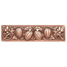 "Autumn Squash Drawer Pull (3"" cc) - Antique Copper (NHP-651-AC) by Notting Hill"