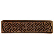 "Celtic Isles Drawer Pull (3"" cc) - Antique Copper (NHP-657-AC) by Notting Hill"