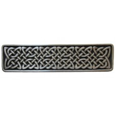 "Celtic Isles Drawer Pull (3"" cc) - Antique Pewter (NHP-657-AP) by Notting Hill"