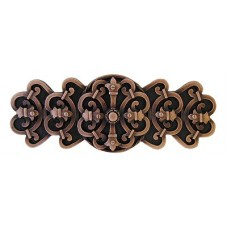 "Chateau Drawer Pull (3"" cc) - Antique Copper (NHP-676-AC) by Notting Hill"