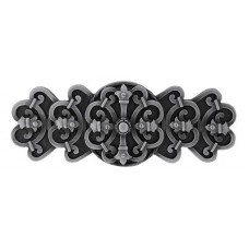 "Chateau Drawer Pull (3"" cc) - Antique Pewter (NHP-676-AP) by Notting Hill"