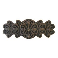 "Chateau Drawer Pull (3"" cc) - Dark Brass (NHP-676-DB) by Notting Hill"